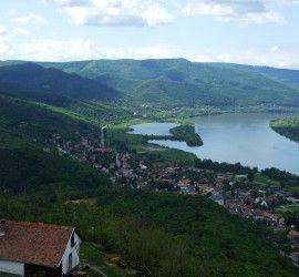 Dunakanyar a Visegrádi várból (Fotó: David Spender - Flickr.com)